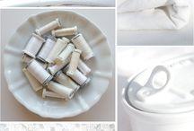 Pureness / Sulky Garne Farben Inspirationen Weiß