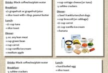 3day meal plan / Diet