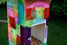 Milk carton crafts / by Virve Deutsch