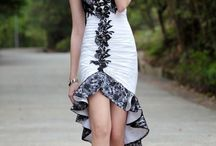 Dresswe elegant prom dresses and boots / by indianfashionandlifestyle.com