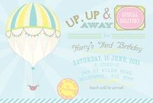 Hot Air Balloon Birthday