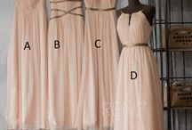Bridal Party / Bridesmaid and Groomsman ideas, Dresses etc...