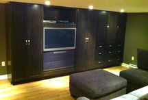 Built-In Cabinetry by Kent / Kent Custom Carpentry specializes in built-in units customized to suit you're every need. A built-in unit not only provides storage, but is built to match your functionality needs and style desires.
