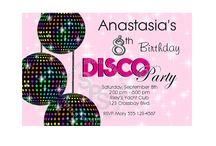 Disco Birthday / by Katie Speedy