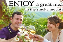 Restaurants in the Great Smoky Mountains / From fine dining to the finest burger, make your belly happy in the Great Smoky Mountains!