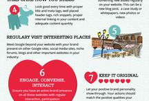 Infographics / Useful Infographics talking about Web Designs, Web Marketing, Online Marketing & more.