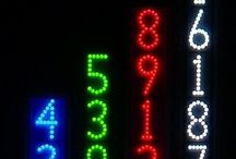 LED Lighted House Numbers by LEDress / Examples of LEDress products that have been shipped to 48 States (Wanted--A customer from Hawaii or Utah)