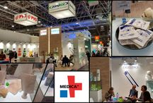 #DISPOTECH - #MEDICA2015 / #Dispotech at #Medica 2015, World Forum for Medicine International Trade Fair in #Düsseldorf. Dispotech presents a whole range of #hotcold products: hot/cold reusable gelatine, #instantice packs, #hotpacks and #icesprays!  Dispotech at new stand Hall 5 Stand P20