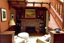 Arts & Crafts Movement - Style of the House / Renvyle House is an historic hotel, rebuilt in the 1920's, after the civil war, in the Style of the Arts & Crafts Movement, using local craftsmen, local produce in clean line designs