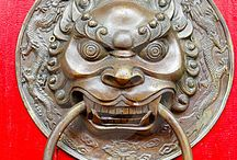 orient lion head