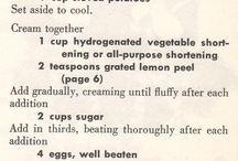 Vintage Recipes