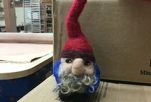 My felted projects