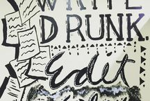 GrammaryThoughts #writedrunk #editsober #writer #writing #proofread #proofreader