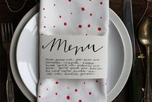 Place settings and Tablescapes