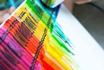 Crayons Art / Decoración