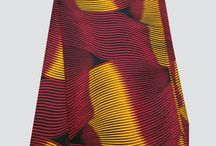 African printed cotton