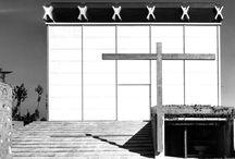 CHIESA PARROCCHIALE, BARANZATE DI BOLLATE / Baranzate di Bollate (MI) – 1956 Architettura: Angelo Mangiarotti e Bruno Morassutti Strutture: Aldo Favini