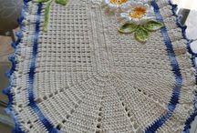 centro -mesa-flores-azul-blanco