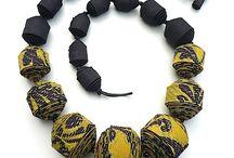Textile jewelery