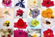 crochet - flowers / by Colleen Heath