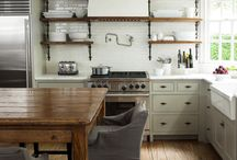 Rustic kitchens / Rustic kitchens for house parties