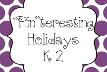 """Pin""teresting Holiday K-2 / Pin your Holiday K-2 pins here! / by Hanging Out In First"