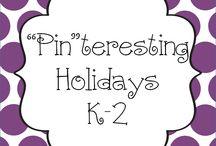 """Pin""teresting Holiday K-2 / Pin your Holiday K-2 pins here!"