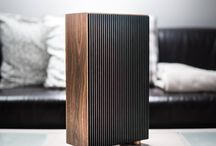 Computer - water cooling / customs computer design, custom parts, water cooling, pure wood, itx form