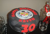Marshall's 1st Birthday / Our baby boy's 1st hot wheels race car birthday!