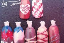 MS nails / Algunos de mis trabajos favoritos