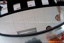 LS Visionn Waterproof Dome CCTV Camera Waterproof Test.
