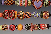 Homemade beaded bracelets / by Wanda Siddell