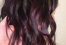 plum hairs