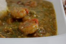 african food/comida africana