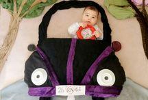 Bebek foto kolaj