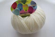 BABY COVER / 100% LANA 90 MT ferri-uncinetto 4,5 -6 / 100% LAINE 90 MT fers-crochet 4,5-6