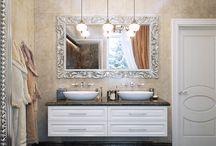 neoclassic bathroom