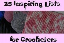 Crochet~Tips,Tricks & How to's