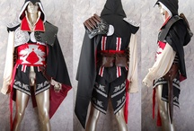 Assassin's Creed II costumes / Assassin's Creed II Ezio cosplay costume, video game outfit, Ezio hoodie