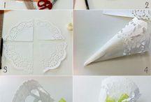dekoráció tortacsipke