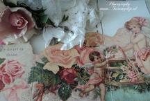 romantic victorian cards