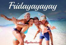 TGIF - its Friday!! / by Riya Travel & Tours Inc.