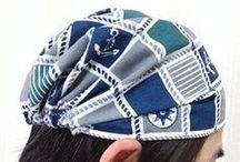 三角巾、ヘアバンド