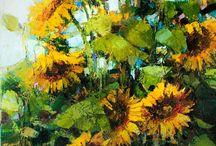 Malba květiny