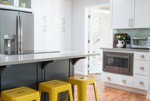 Kitchen Inspiration / Whether you're planning a complete kitchen overhaul or looking for a few quick and easy updates, these creative kitchens will inspire you.