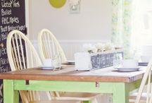 Dining room ideas / by Kim Austin St Jean