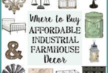 Industrial Farmhouse Decor
