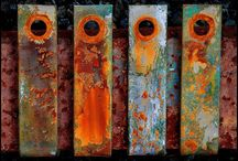 Rust, Textures, Patterns and Colour