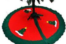 tapete para árvore de Natal
