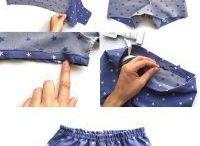 szycie ubranka dla dzieci